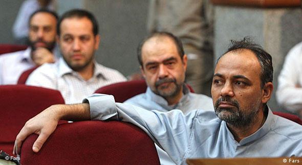 احمد زیدآبادی در یکی از دادگاههای پس از اعتراضات عمومی به نتیجهی دهمین دورهی انتخابات ریاست جمهوری