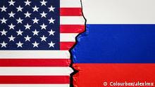 Symbolbild Verhältnis USA Russland