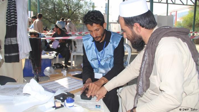 Afghanistan Parlamentswahlen Khost