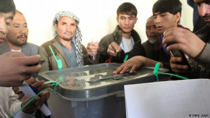 Afghanistan Parlamentswahlen Kabul