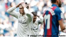 Spanien Fussball Real Madrid - UD Levante | Bale (picture-alliance/dpa/E. de la Fuente)