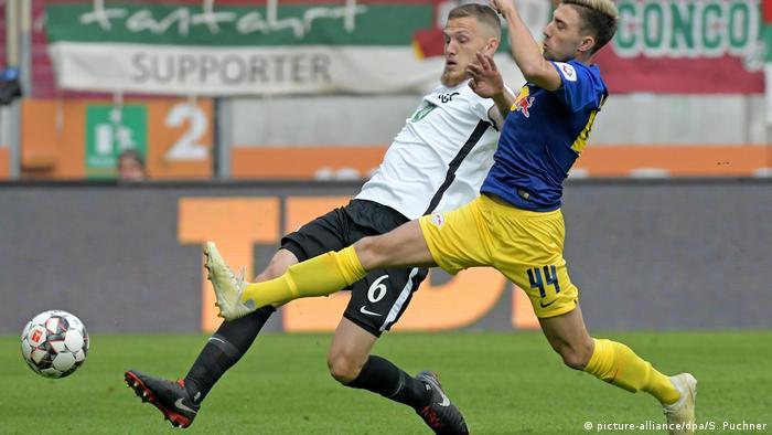 Deutschland Bundesliga FC Augsburg - RB Leipzig (picture-alliance/dpa/S. Puchner)