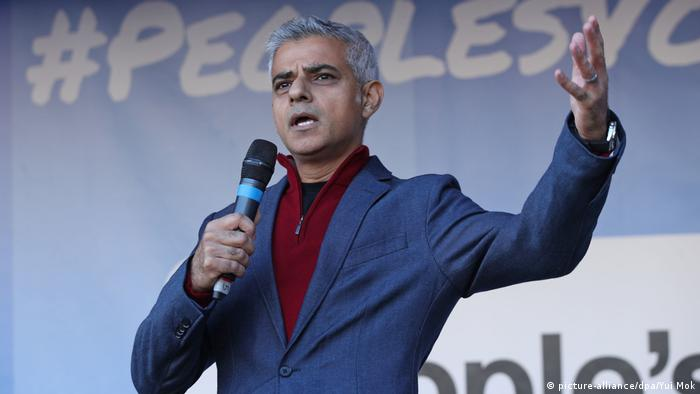 Sadiq Khan (picture-alliance/dpa/Yui Mok)