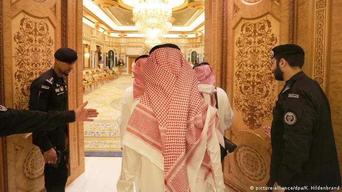 Saudi-Arabien Riad - Königspalast Mitglieder des saudischen Königshauses