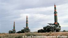 Pershing II Raketen US Mittelstreckenrakete