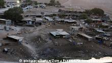 Westjordanland Dorf Khan al-Ahmar