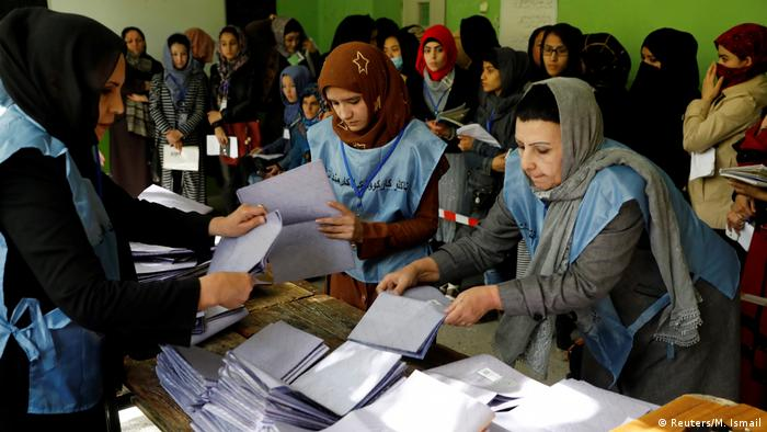 Afghanistan Parlamentswahl | Wahllokal in Kabul (Reuters/M. Ismail)