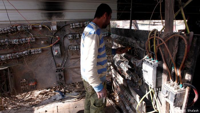 Siemens soll den Irakern Strom bringen