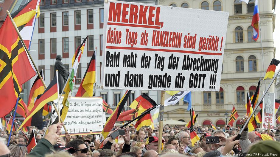 PEGIDA′s fourth anniversary: Thousands in Dresden for ...  PEGIDA′s four...
