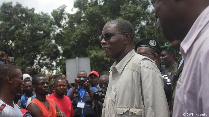 Angola - Pedro Sebastião, Staatsminister und Leiter des Sicherheitshauses des Präsidenten der Republik