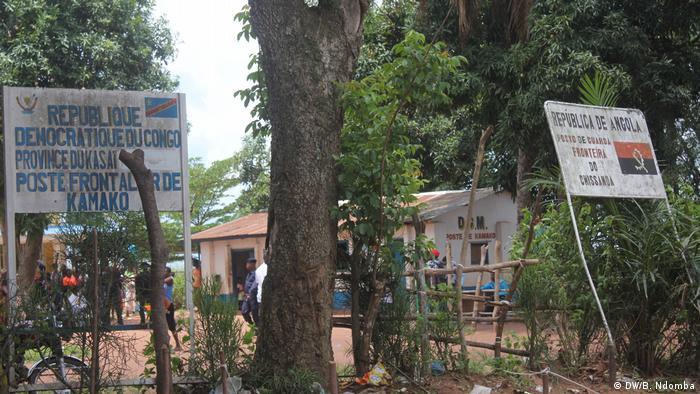 Angola - Grenze zum Kongo (DW/B. Ndomba)