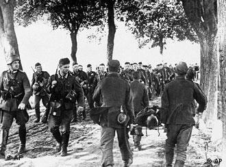 Колонна вермахта входит в Польшу