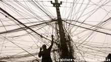 Symbolbild Irak Strom in Bagdad