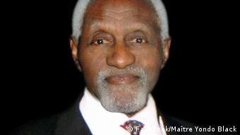 Maître Yondo Black, ancien bâtonnier de l'ordre des avocats du Cameroun.