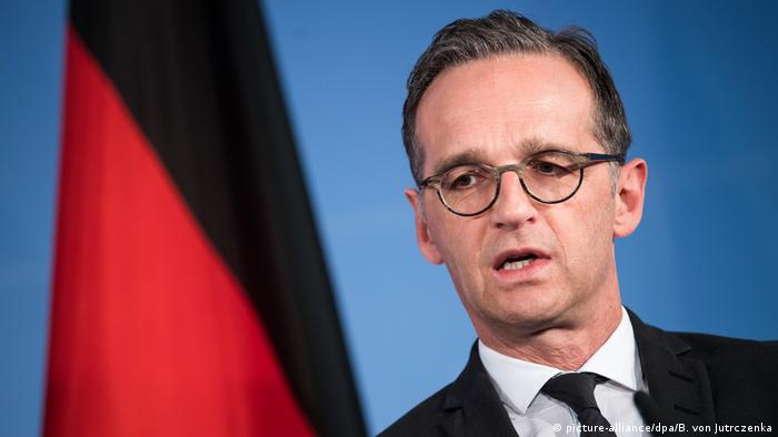German Foreign Minister Heiko Maas (picture-alliance/dpa/B. von Jutrczenka)