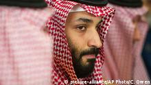 Saudi Arabien Mohammed bin Salman (picture-alliance/AP Photo/C. Owen)