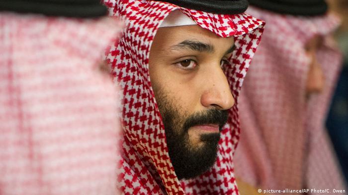 Saudi Arabien Mohammed bin Salman (picture-alliance/AP Photo/C. Owen)