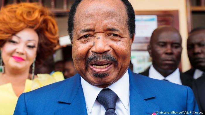 Kamerun Präsident Paul Biya (picture-alliance/AA/J.-P. Kepseu)