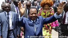 Paul Biya (picture-alliance/AP Photo/S. Alamba)