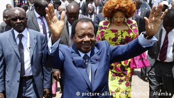 Kamerun Präsident Paul Biya (picture-alliance/AP Photo/S. Alamba)