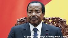 Kamerun Präsident Paul Biya
