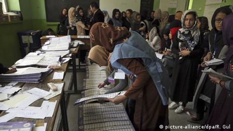 Afghanistan Parlamentswahl 2018 (picture-alliance/dpa/R. Gul)
