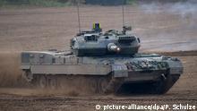 Symbolbild Deutsche Rüstungsexporte nach Saudi-Arabien | Kampfpanzer Leopard