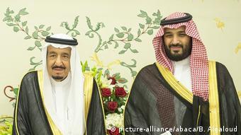 Saudi Arabien Vision 2030 Präsentation König und Kronprinz