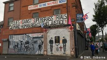 Nordirland Belfast - Shankill Road (DW/L. Osborne)