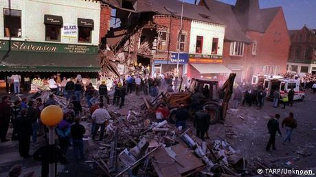 A bombed out building in Northern Ireland's Shankill Road 1993 (TARP/Unknown)