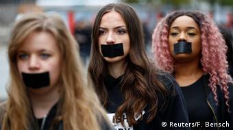 Акция против торговли людьми - Walk for Freedom в Берлине