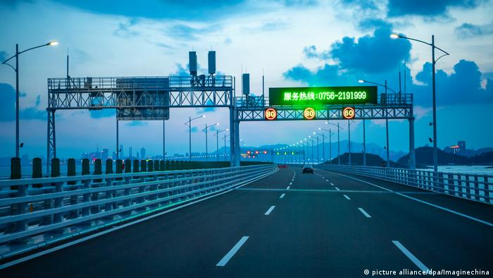 Hongkong-Zhuhai-Macao-Brücke (picture alliance/dpa/Imaginechina)