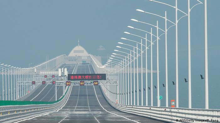 Hongkong-Zhuhai-Macao-Brücke (AFP/Getty Images/P. Fong)