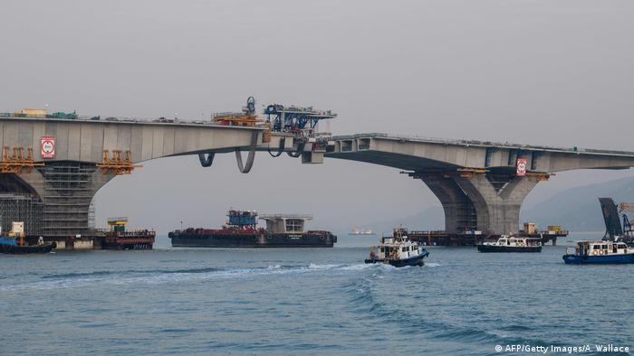 Hongkong-Zhuhai-Macao-Brücke (AFP/Getty Images/A. Wallace)