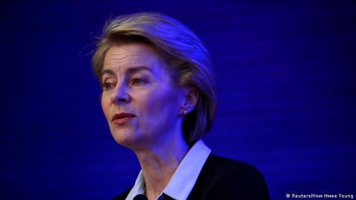German Defense Minister Ursula von der Leyen (Reuters/How Hwee Young)