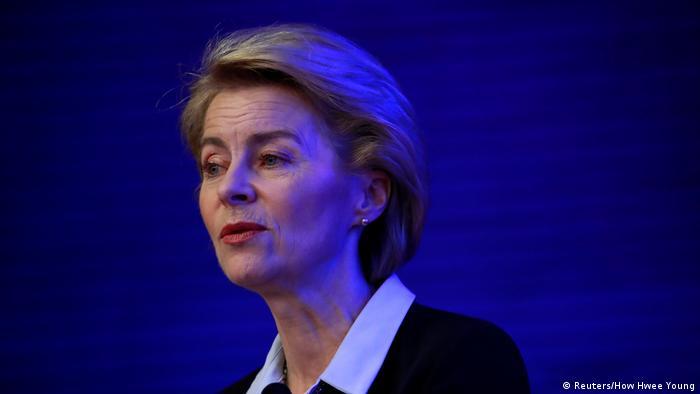 German Defense Minister Ursula von der Leyen (Reuters/How Hwee Young)