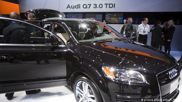 Numer jeden wśród złodziei: Audi Q7 3.0 TDI