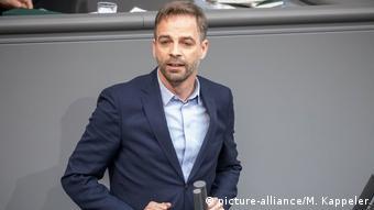 German parliamentarian Stefan Liebich (picture-alliance/M. Kappeler)