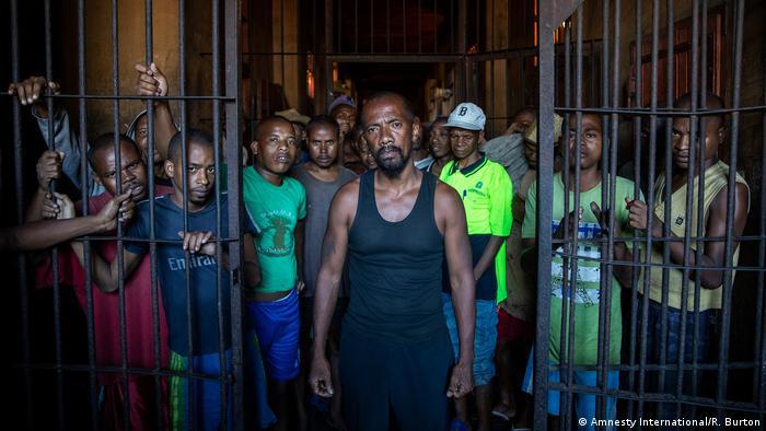 Madagaskar Häftlinge in Untersuchungshaft (Amnesty International/R. Burton)