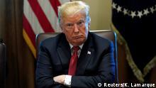 USA, Washington: Trump hält eine Kabinettssitzung im Weißen Haus