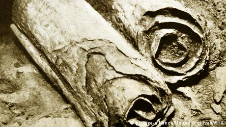 The Dead Sea Scrolls were discovered in 1947 in the Qumran Caves.
