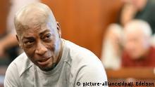 USA Kläger und Krebs-Opfer Dewayne Johnson in San Francisco