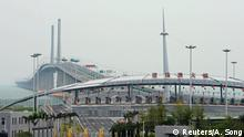 China Hongkong-Zhuhai-Macao-Brücke