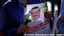 Proteste in den USA nach Mord an Jamal Khashoggi (picture-alliance/newscom/K. Dietsch)