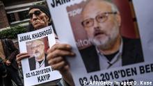 Protest nach Verschwinden von Jamal Khashoggi