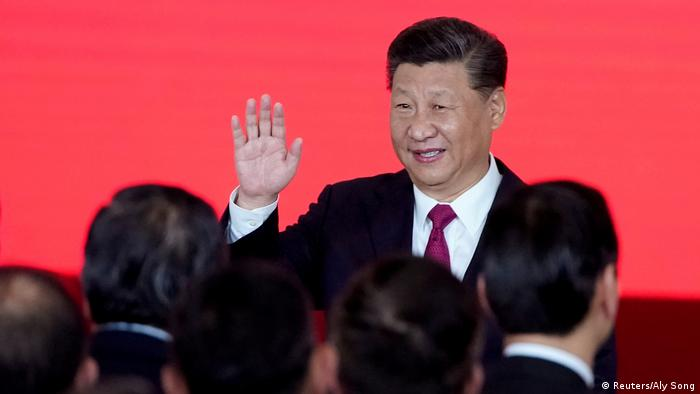 China Eröffnung Hongkong-Zhuhai-Macau-Brücke | Xi Jinping (Reuters/Aly Song)