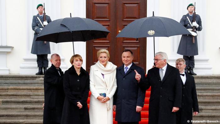 Staatsbesuch polnischer Präsident Duda Deutschland