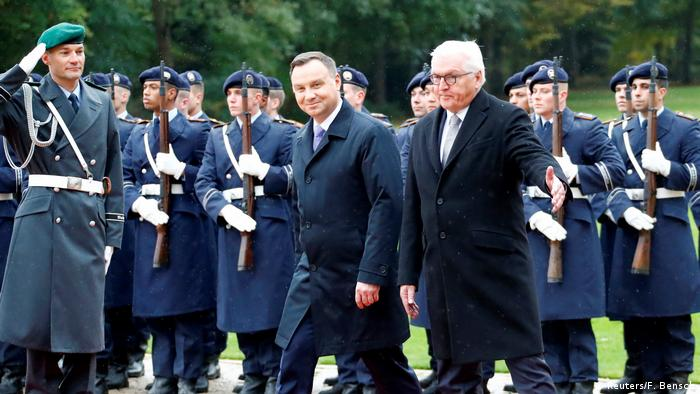 Polish President Andrzej Duda calls for stop to Nord Stream 2 gas pipeline