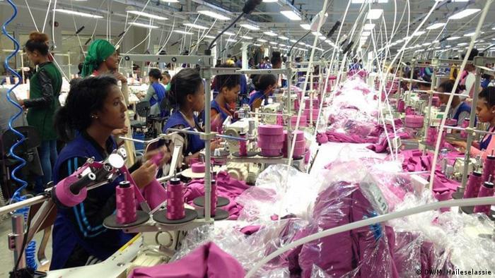 Äthiopien Eröffnung der ITACA Textilfabrik in Tigray