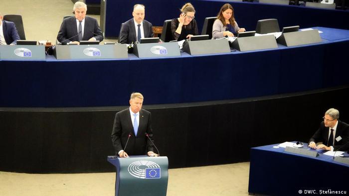 Preşedintele României, Klaus Iohannis, în Parlamentul European
